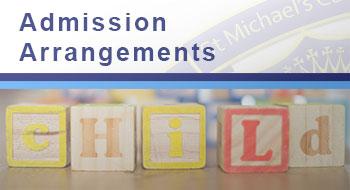 Read about Admission Arrangements