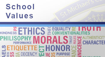 View the School Values page
